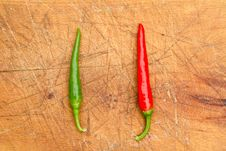 Free Chillies Stock Photography - 16216582