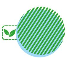 Green Planet (ecological Simbol) Stock Photos