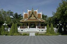 Free Thai Art Wayside Shelter. Royalty Free Stock Photos - 16216918