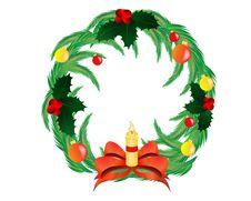 Free Christmas Wreath Stock Image - 16217291