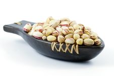 Free Roasted Pistachio Nuts Royalty Free Stock Images - 16217549
