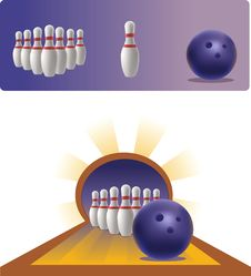 Free Illustration Of Bowling Royalty Free Stock Photos - 16217628