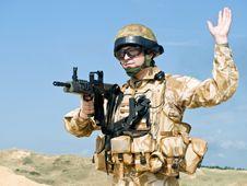 Free Royal Commando Stock Photo - 16217630