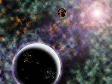 Free A Strange Solar System Royalty Free Stock Photos - 16217678