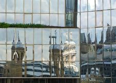 Free London Reflections Stock Photos - 16217773