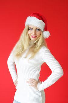 Free Santa Girl Stock Photo - 16217800