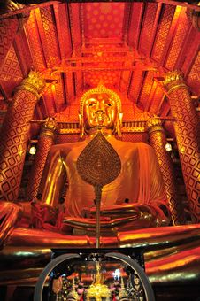 Wat Pha Nan Cheng 3 Royalty Free Stock Images
