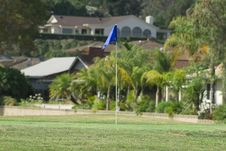 Free Golf Flag Royalty Free Stock Photos - 16217928