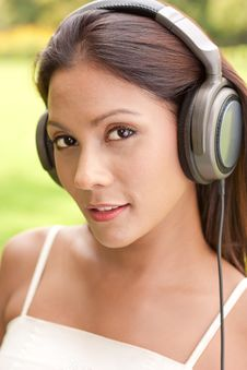 Free Music Listener Royalty Free Stock Photo - 16218015