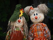 Free Scarecrow Dolls Royalty Free Stock Images - 16218199
