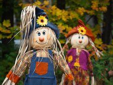 Free Scarecrow Dolls Stock Image - 16218221