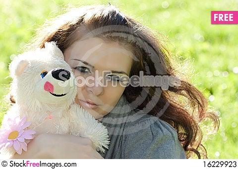 Free Young Girl Closeup Portret Stock Photos - 16229923