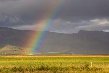 Free Iceland Rainbow Royalty Free Stock Photo - 16220575
