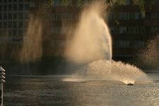 Free Fountain Lights Stock Photo - 16221380