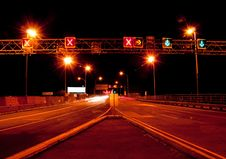 Free Night Traffic Royalty Free Stock Photo - 16222465