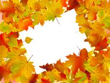 Free Autumn Frame Turned At An Angle Royalty Free Stock Images - 16222529