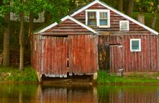 Free Boathouse Royalty Free Stock Photos - 16222878
