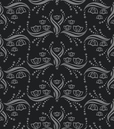 Free Seamless Floral Pattern Stock Photography - 16223232