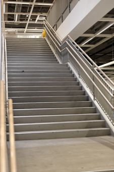Free Staircase At The Store Stock Photos - 16223453