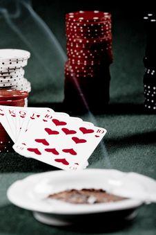 Free Poker Gear Vintage Royalty Free Stock Photo - 16223845