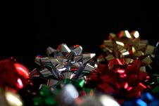 Abstract Bows Stock Photo