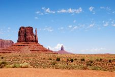 Free Monument Valley Royalty Free Stock Photography - 16224477