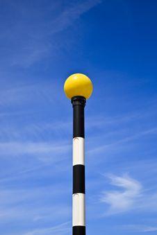Free Zebra Pole Royalty Free Stock Photos - 16224588