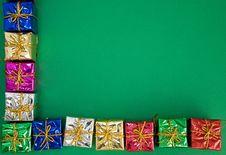 Free Border Of Presents Stock Photo - 16225070