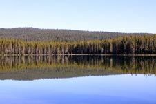 Free Squaw Lake Reflections Stock Photography - 16225132