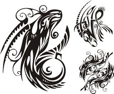 Fantasy Zodiac. Stock Images