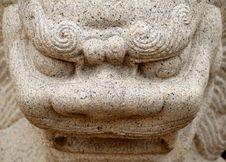 Free Close Up Shot Of Chinese Stone Dragon Stock Photos - 16227423
