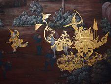Free Art Thai Painting Royalty Free Stock Photo - 16227665