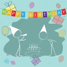 Free Kids Celebrating Birthday Stock Photos - 16227713