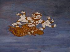 Free Art Thai Painting Royalty Free Stock Photos - 16227738