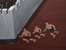 Free Art Thai Painting Stock Photography - 16227752