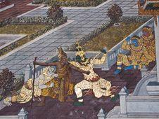 Free Art Thai Painting Stock Photo - 16228050