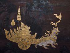 Free Art Thai Painting Stock Image - 16228081