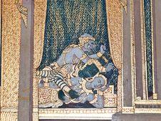 Art Thai Painting Stock Image