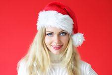 Free Santa Girl Royalty Free Stock Image - 16228736