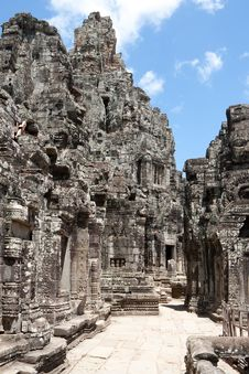 Free Bayon Temple In Angkor Stock Images - 16228794