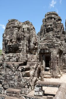 Free Bayon Temple In Angkor Stock Images - 16228804