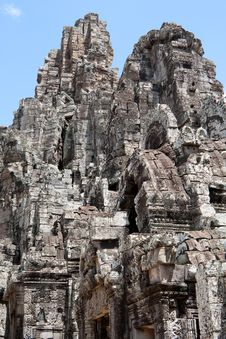 Free Bayon Temple In Angkor Stock Image - 16228811
