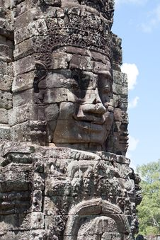 Free Bayon Temple In Angkor Royalty Free Stock Photography - 16228817