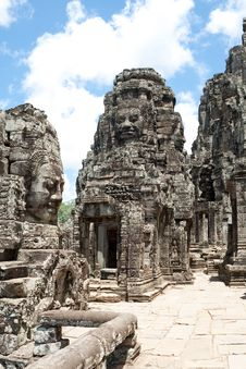 Free Bayon Temple In Angkor Stock Photo - 16228820