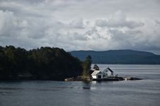 Free Beach House In Norway Royalty Free Stock Image - 16229666