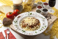 Free Pasta And Cheese Stock Photography - 16229742