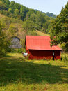 Free Red Mountain Barn Stock Image - 16234751