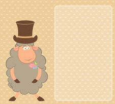Free Cartoon Sheep Fiance Royalty Free Stock Image - 16230626