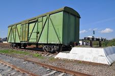 The Freight Car At Deadlock. Stock Images