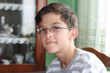 Free Boy With Glasses Stock Photos - 16231043